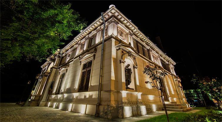 the theodor aman museum luce&light kronwell